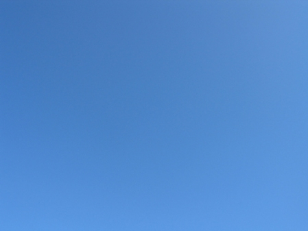 Blue, photo of sky