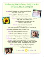Embracing Mandala Flier