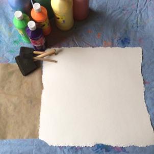 paint set for swirl mandala