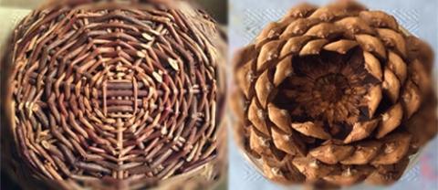 Pine Cone & Basket