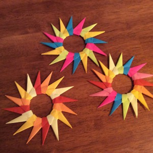 Origami Star Bursts