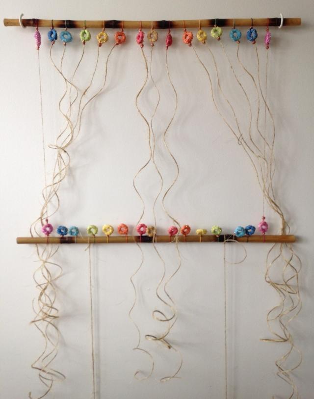 rainbow weaving set up-1
