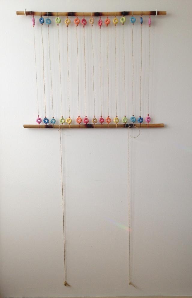 rainbow weaving set up-2