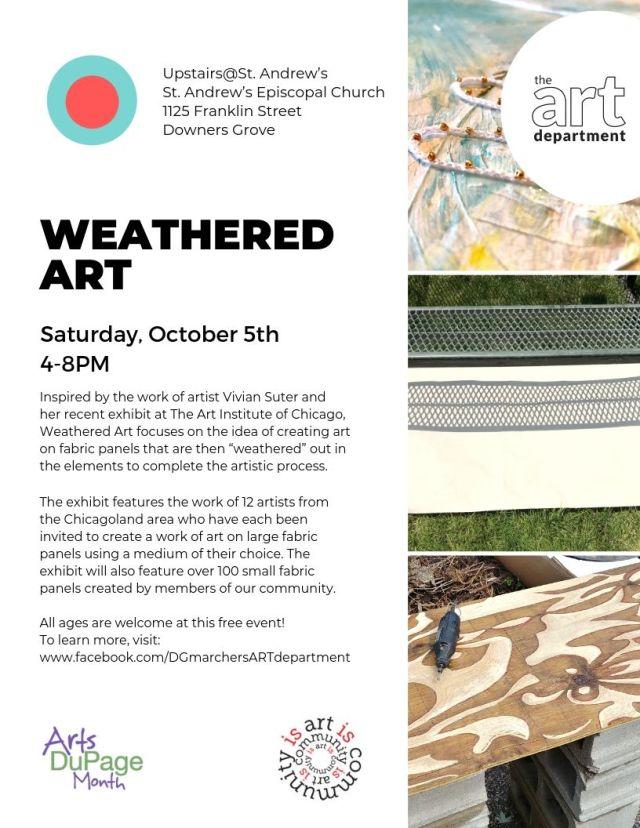 Weathered Art Flyer
